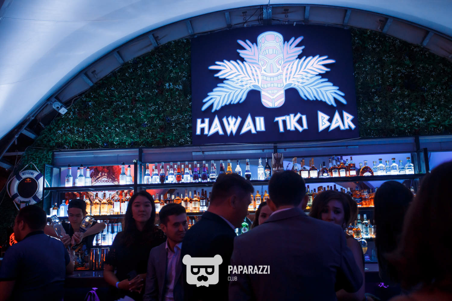 Hawaii tiki bar
